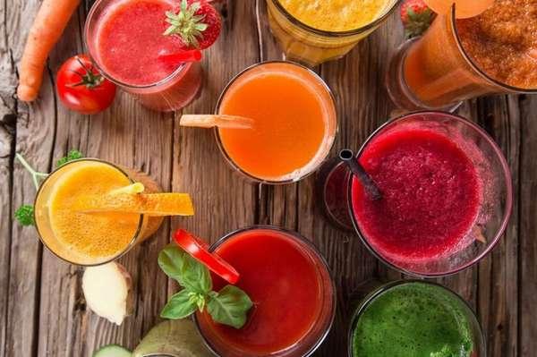 Гипертония и соки