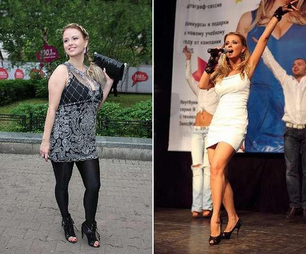 Анна Семенович: минус 10 кг