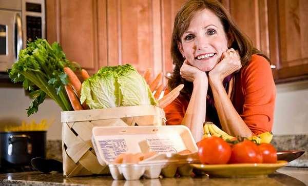 Правильное питание для похудения при климаксе