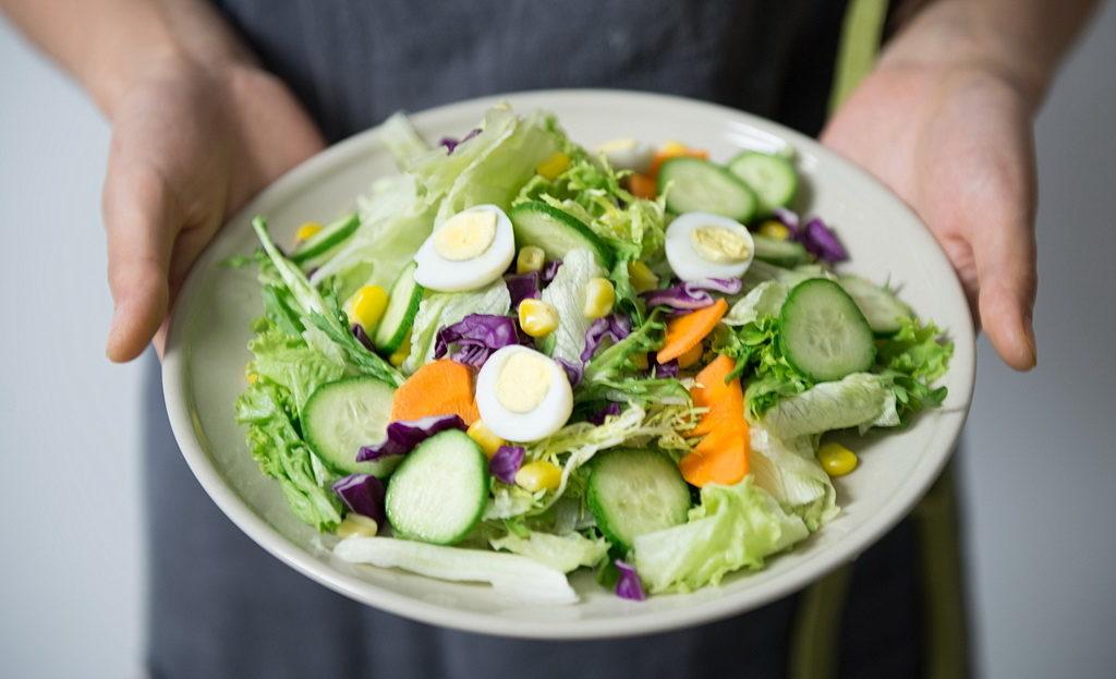 Пример правильного питания на неделю - Салат