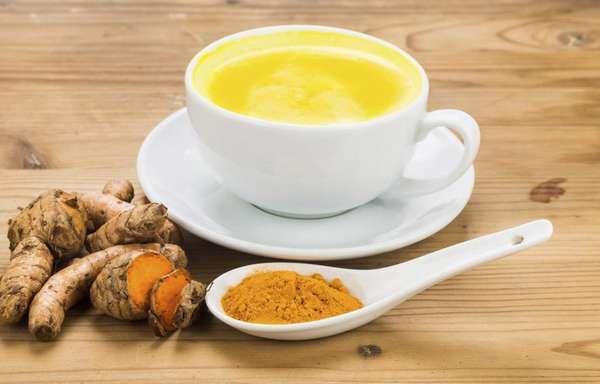 Золотое молоко из куркумы - рецепт приготовления