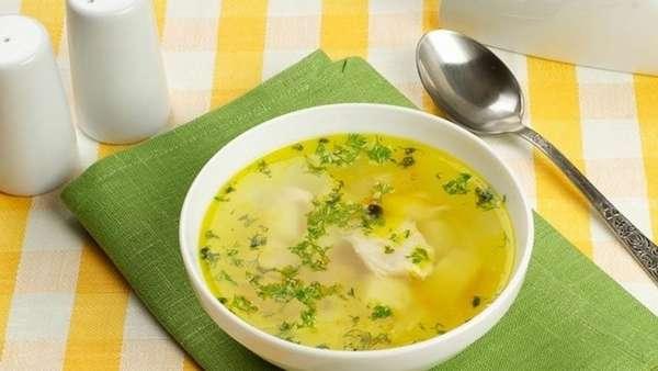 Правила выхода из диеты Куриный суп