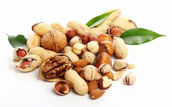 Орехи на правильном питании Фото