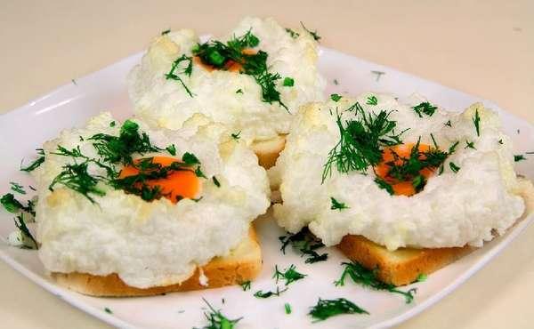 Классический рецепт яиц