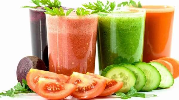 Овощной сок Фото