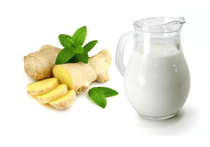 Молоко с имбирём для похудения: как принимать, рецепты