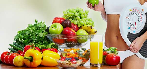 Питание для похудения живота