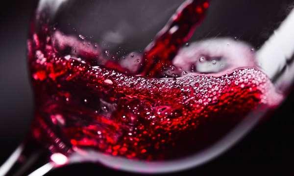 Красное вино полезно для лёгких