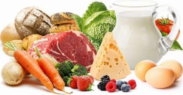Пример самого простого меню белковой диеты