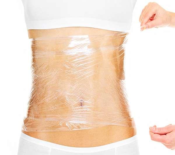 Обертывание для похудения живота в домашних условиях
