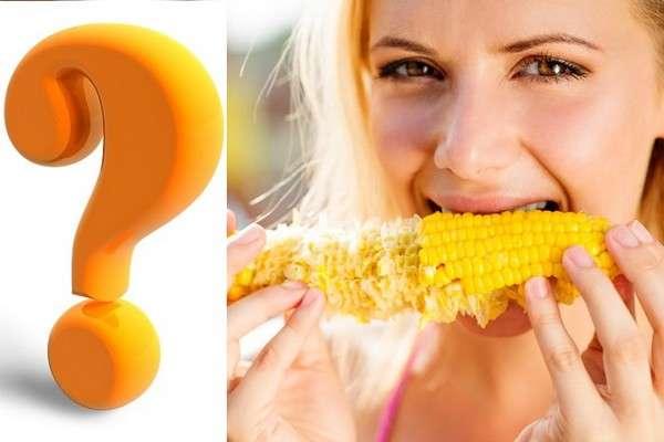 Польза кукурузы вареной при похудении