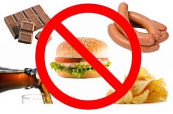 Запрет есть перед тренировкой