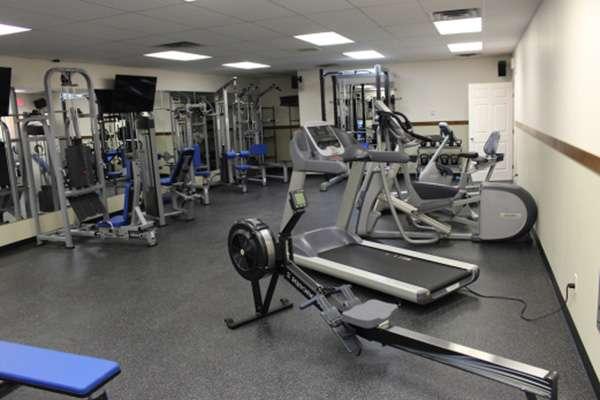 Спортзал для тренировок