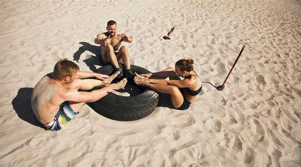 Упражнения на песке: сохраним фигуру в отпуске