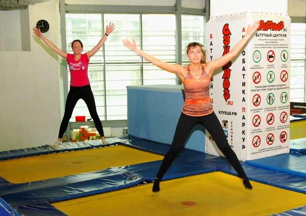 Прыжки на батуте: фитнес родом из детства