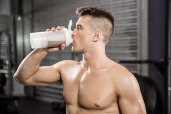 Приём протеина