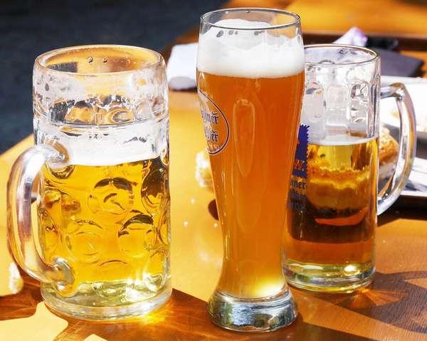 Пиво в кружках. Польза и вред.