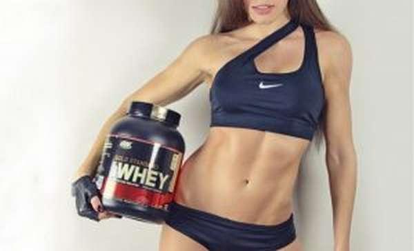 протеин девушке для набора мышечной массы