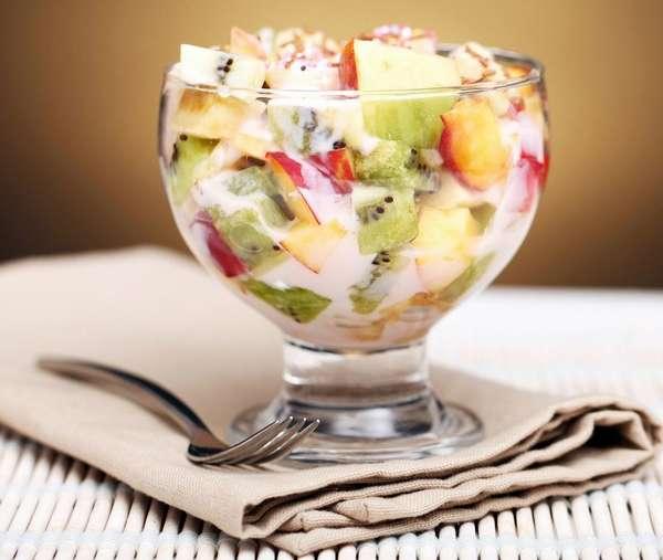 Вкусные заправки для фруктовых салатов без майонеза