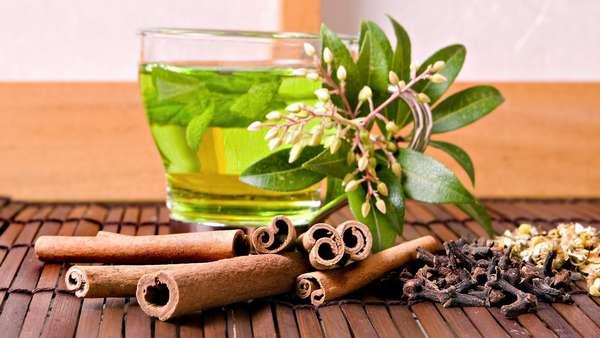 Рецепт зеленого чая с корицей для похудения