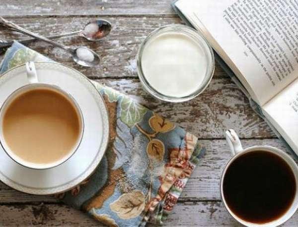 Кофе нельзя пить с молоком и сливками