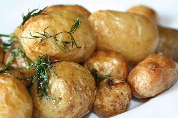 Запеченная картошка Фото