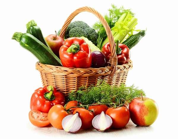 Разрешены овощи Фото