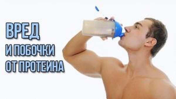 Побочные эффекты протеина