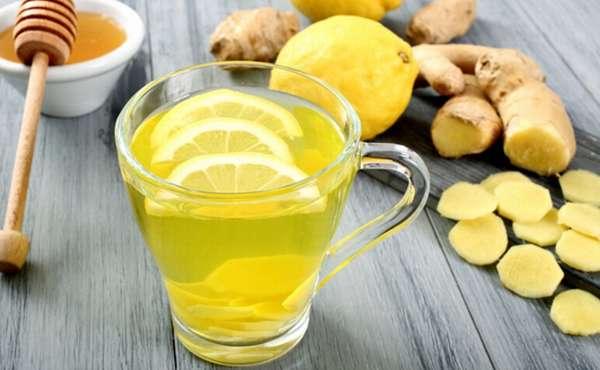 Напиток из имбиря и лимона для похудения рецепт