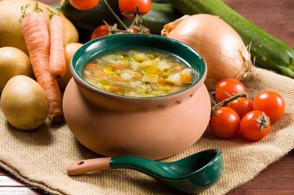 Фото: Суп в горшочке