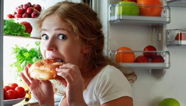 Неправильное пищевое поведение и вес
