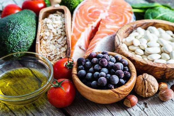 Фото: Продукты для правильного питания и список