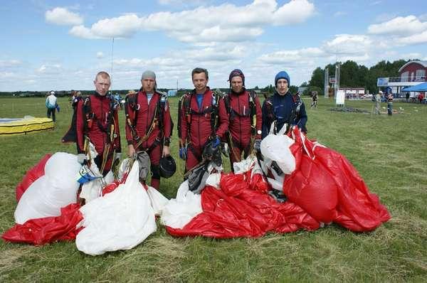 В Ленинградской области состоится Чемпионат России по парашютному спорту