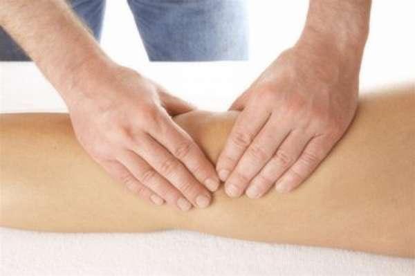 Массаж коленного сустава - техника и методики