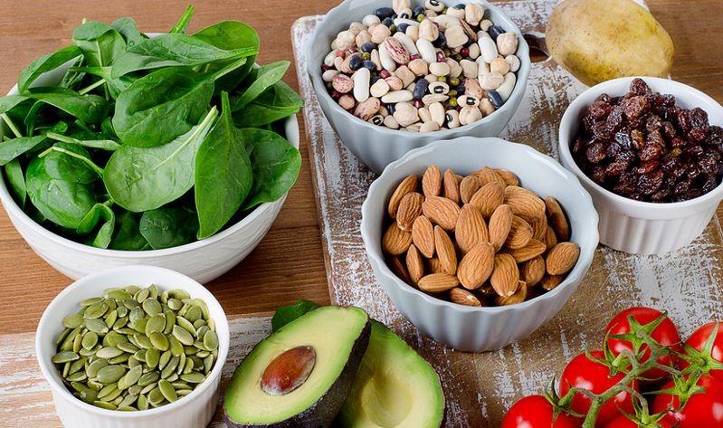Растительные продукты богатые белком Фото