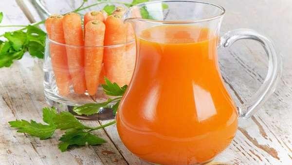 Сок сырой моркови