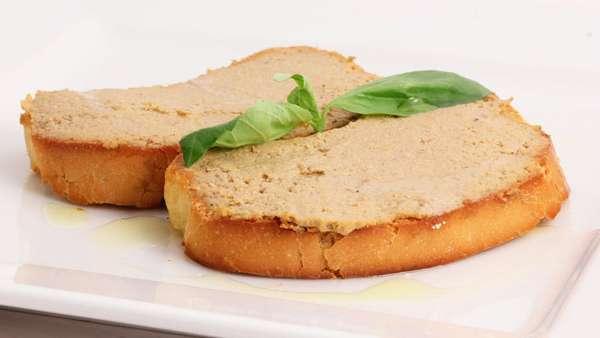 Бутерброды - Нежный паштет из куриной печени