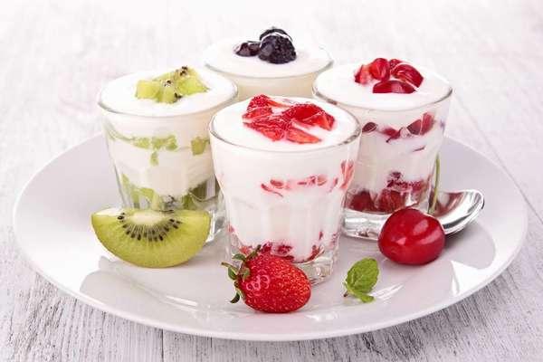 Самые полезные йогурты Фото