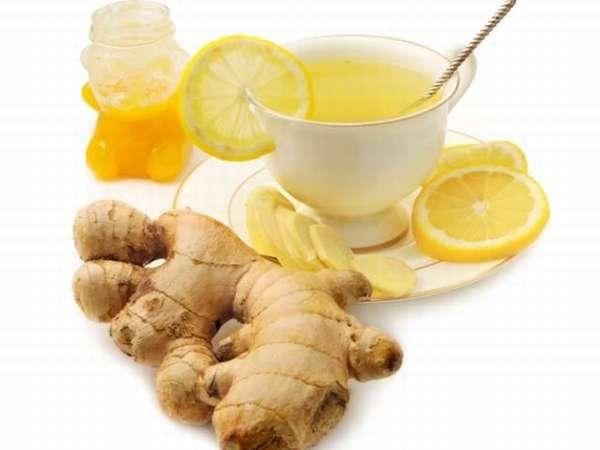 Чай: имбирь с лимоном для похудения
