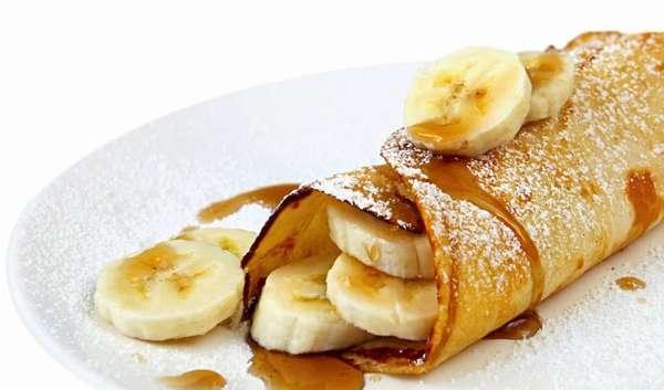 Овсяноблин рецепт с бананом