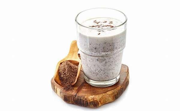 Кефирно-льняной йогурт