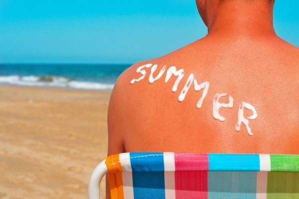 Средства для лечения солнечного ожога
