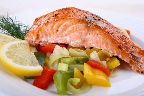 Примерное меню на неделю Фото рыбного блюда