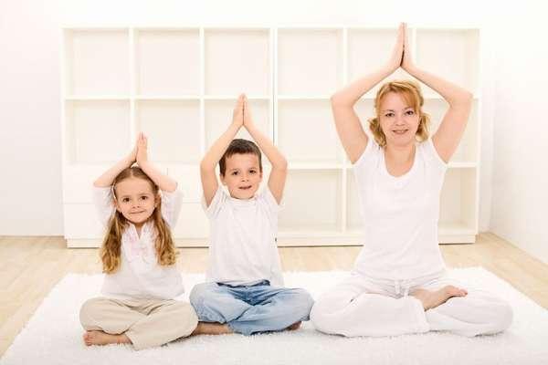 Йога для детей