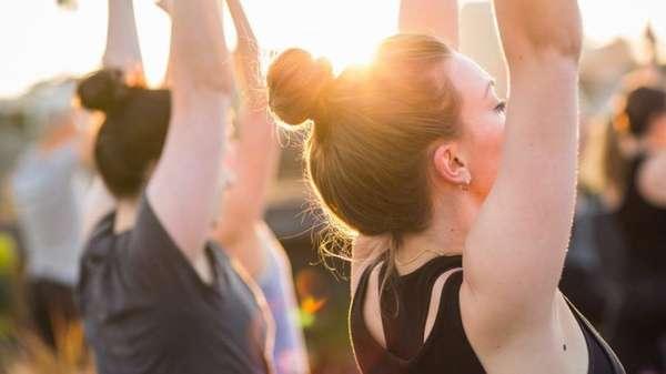 Йога-фреш (как освежиться в жару)