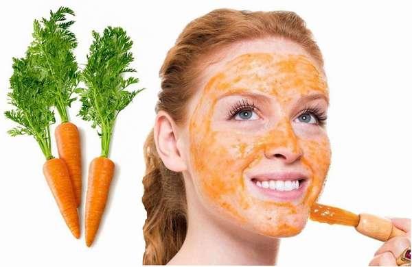 Польза моркови для красоты кожи