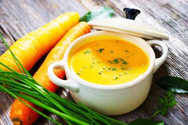 Морковный рацион питания на 7 дней Суп-пюре