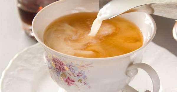 Зеленый чай с молоком для похудения Фото