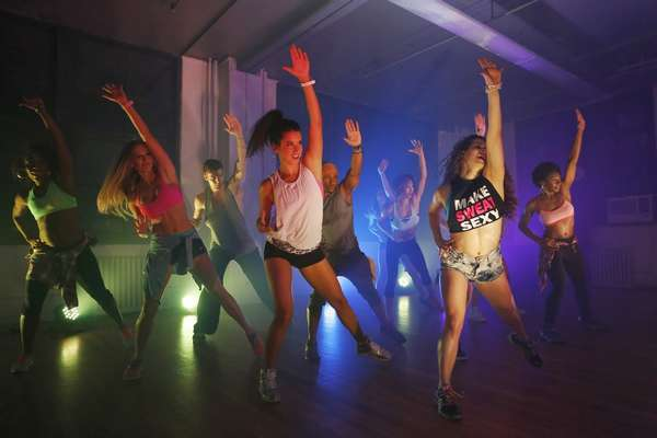 Dance party: вечеринка в формате фитнес