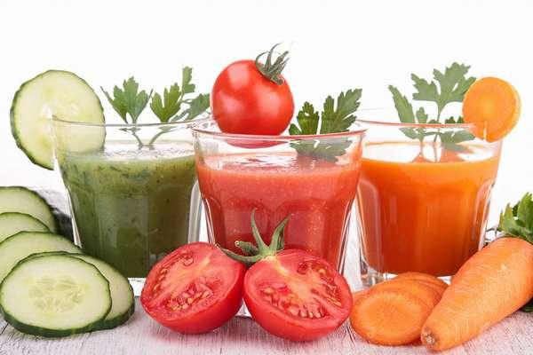 Польза и вред овощных соков